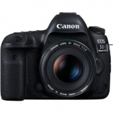 Aparat foto DSLR Canon EOS 5D Mark IV, 30.4MP, Black + Obiectiv EF 24-105 IS II USM
