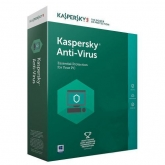 Kaspersky Anti-Virus 2018 1Device/1Year, Renew Retail