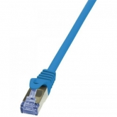 Patchcord Logilink, Cat6A, S/FTP, 1m, Blue