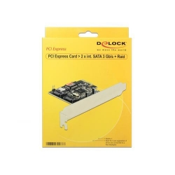 Adaptor Delock PCI Express 2 x internal SATA3 + Raid