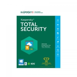 Antivirus Kaspersky Total Security 2019, 3 users/ 1 year, Base Electronic