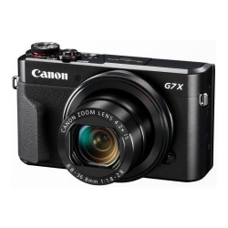 Aparat foto compact Canon PowerShot G7 X Mark II, 20.1MP, Black