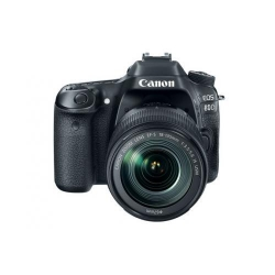 Aparat foto DSLR Canon EOS 80D, 24.2MP, Black + Obiectiv 18-135 IS USM