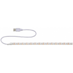 Banda LED Gembrid 30cm, USB, Alb