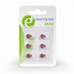 Baterie Gembird Hearing aids Button Cell ZA312, 6x 1.4V, Blister