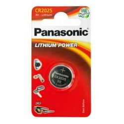 Baterie Panasonic Lithium Power, 1x CR2025, Blister