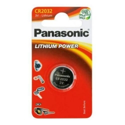 Baterie Panasonic Lithium Power, 1x CR2032, Blister