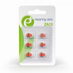Baterii Gembird Hearing aids Button Cell ZA13, 6x 1.4V, Blister