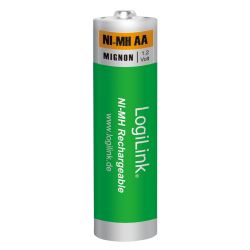 Baterii LogiLink Ni-MH rechargeable, 4x AA, Blister