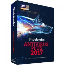 Bitdefender Antivirus Plus 2017 3 user/1 an, Base Electronic