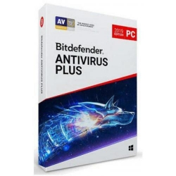 Bitdefender Antivirus Plus 2019, 5 users/1 year, Base Retail