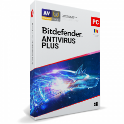 Bitdefender Antivirus Plus 2020, 1users/1year, Base Retail