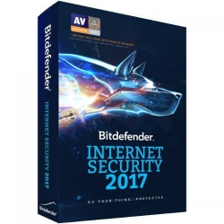 Bitdefender Internet Security 2017 1 user/1 an, Base Electronic
