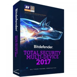 Bitdefender Total Security Multi-Device 2017 10 user/1 an, Base Electronic