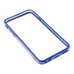 Bumper silicon Serioux pentru iPhone 6/6S, Blue