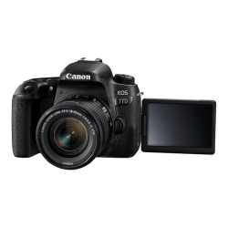 Camera Foto Canon EOS 77D, 24.2MP, Black + Obiectiv 18-55mm f/4-5.6 STM + Rucsac Canon BAG300 + Manual de Fotografie digitala Michael Freeman