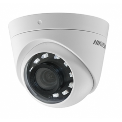 Camera HD Dome Hikvision DS-2CE56D0T-I2PFB, 2MP, Lentila 3.6mm, IR 20m