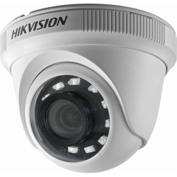 Camera HD Dome Hikvision Turbo DS-2CE56D0T-IRPF3C, 2MP, Lentila 3.6mm, IR 25m