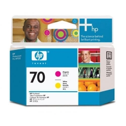 Cap printare HP 70 Magenta and Yellow - C9406A