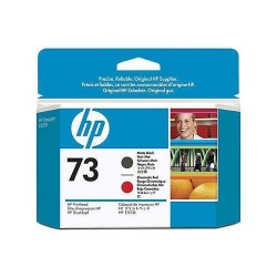 Cap printare HP 73 Matte Black and Chromatic Red - CD949A