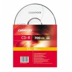 CD-R Omega 52x, 700MB, 1buc, Safe Pack