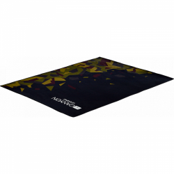 Covor Canyon Camouflage Floor Mat, Black-Green