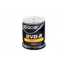 DVD-R SPACER  4.7GB, 16x, 100 buc, Spindle