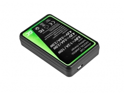 Green Cell Battery Charger AHBBP-301 for GoPro HD Hero 3, GoPro HD Hero 3+