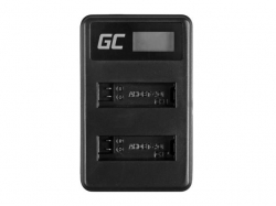 Green Cell Battery Charger AHBBP-401 for GoPro AHDBT-401, HD Hero4