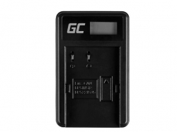 Green Cell Battery Charger CB-5L for Canon BP-511, EOS 5D, 10D, 20D, 30D, 50D, D30, 300D, PowerShot G1, G2, G3, G5, Pro 1