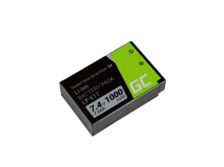 Green Cell Battery LP-E17 Canon EOS 77D, 750D, 760D, 8000D, M3, M5, M6, Rebel T6i, Rebel T6s, EOS Rebel T7i 7.2V 1040mAh