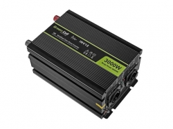 Green Cell Car Power Inverter 12V to 220V, 3000W/6000W