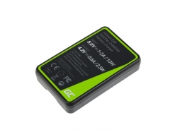 Green Cell Charger MH-67 for Nikon EN-EL23, Coolpix B700, P600, P610, P900, S810C