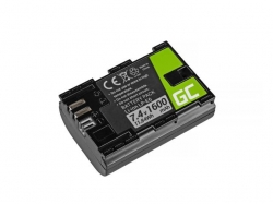 Green Cell Digital Camera Battery for Canon EOS 70D, 5D Mark II/ III, 80D, 7D Mark II, 60D, 6D, 7D 7.4V 1600mAh