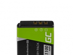 Green Cell Digital Camera Battery for FujiFilm F100, F200, F300, F500, F600, F700, F80, X10, X20 3.7V 750mAh