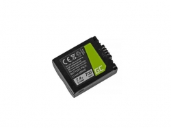 Green Cell Digital Camera Battery for Panasonic DMC FZ35, FZ7, FZ8, FZ18, FZ30, FZ50 7.4V 700mAh