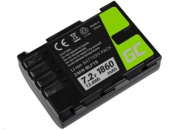Green Cell Digital Camera Battery for Panasonic Lumix DC-G9 DC-GH5 DC-GH5s DMC-G9 DMC-GH3 DMC-GH4 7.2V 1860mAh