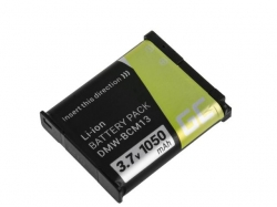 Green Cell Digital Camera Battery for Panasonic Lumix DMC-FT5 DMC-TS5 DMC-TZ40 DMC-TZ60 DMC-ZS30 DMC-ZS40 DMC-ZS50 3.7V 1050mAh