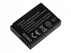 Green Cell Digital Camera Battery for Panasonic Lumix DMC-TZ10 DMC-TZ20 DMC-TZ30 DMC-ZS5 DMC-ZS10 DMC-ZX1 DMC-ZX3 3.7V 850mAh
