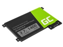 Green Cell e-Book Battery 170-1056-00 Amazon Kindle Touch 2011