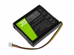 Green Cell GPS Battery F650010252 TomTom One V1 V2 V3 XL Europe Regional Rider