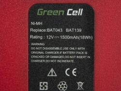 Green Cell Power Tool Battery for Bosch O-Pack 3300K PSR 12VE-2 GSB 12 VSE-2