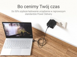 Green Cell USB-C USB-C z Power Delivery (60W), 480 Mbps, 1m Cable