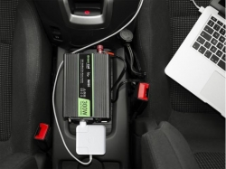 Green Cell ® Voltage Car Inverter 12V to 230V, 300W / 600W