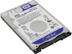 Hard Disk Western Digital Blue 500GB, SATA3, 16MB, 2.5inch