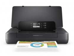 Imprimanta Portabila Inkjet Color HP Officejet 202, Black