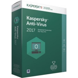 Kaspersky Anti-Virus European Edition, 2-Desktop / 1 year, Base License Pack