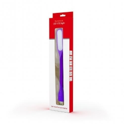 Lampa LED Gembird pentru notebook, USB, Purple