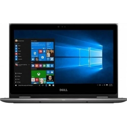 Laptop 2-in-1 Dell Inspiron 5378, Intel Core i3-7130U, 13.3inch Touch, RAM 4GB, SSD 256GB, Intel HD Graphics 620, Windows 10, Grey