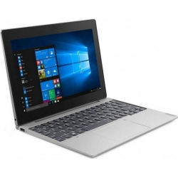 Laptop 2-in-1 Lenovo IdeaPad D330-10IGM, Intel Celeron N4000, 10inch Touch, RAM 4GB, eMMC 64GB, Intel UHD Graphics 600, 4G, Windows 10 Pro, Mineral Grey